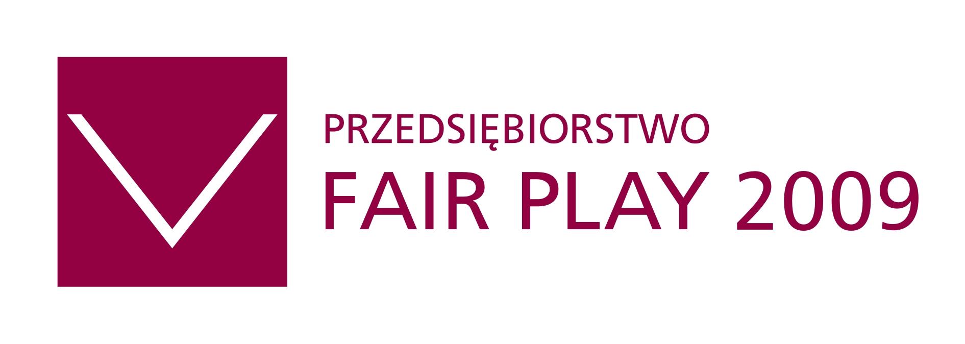 Logo przedsiębiorstwo FAIR PLAY